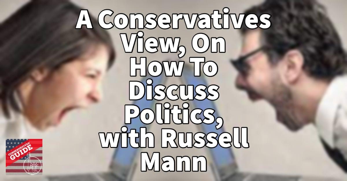 How to discuss politics